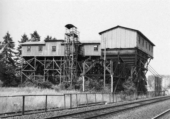 Erzverladeanlage Albshausen, um 1985