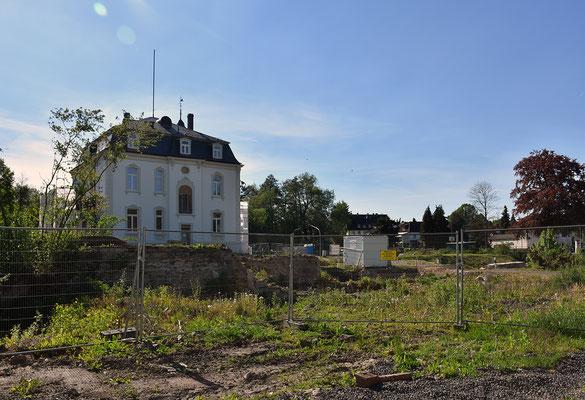 Standort der ehemaligen Pfeifenfabrik, Zustand Mitte Mai 2017