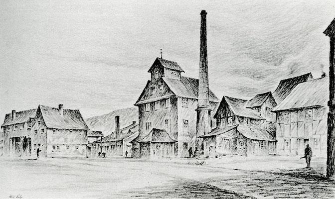 Die Audenschmiede bei Weilmünster nach ihrer Stilllegung