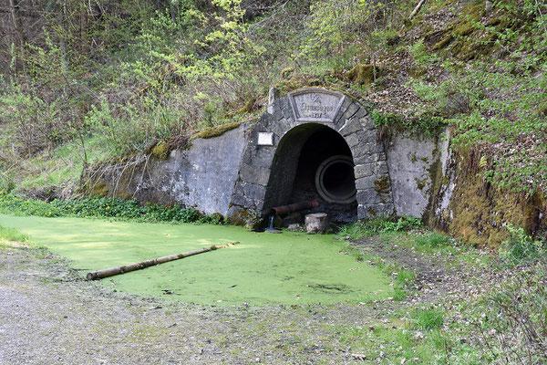Stollenmundloch der Grube Eisensegen von 1937