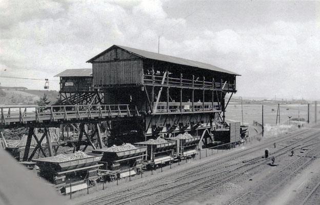 Erzverladeanlage Albshausen um 1939