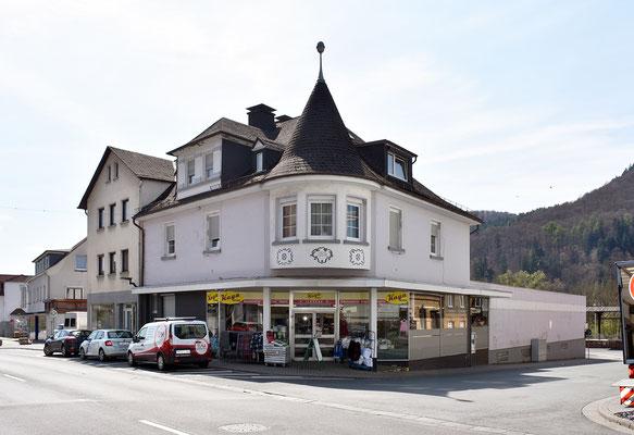 Das Verwaltungsgebäude von 1926, Aufnahme April 2017