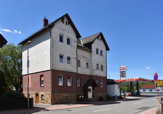Das von 1916-1929 für die Zigarrenherstellung genutzte Gebäude (Gladenbacher Str. 7)