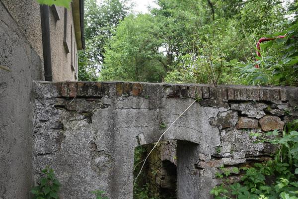 Radkammer der Hammermühle