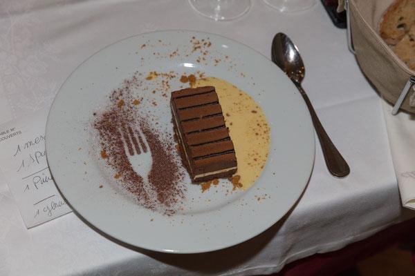 """Dessert im Restaurant """"Les Noces de Jeannette"""""""