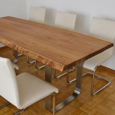 Nahaufnahme von einer Tischplatte