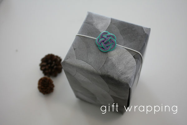 our free gift wrapping