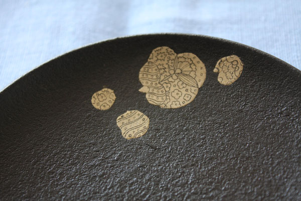 "Small plate set ""Chanaba"" by Sayo Kuroki"