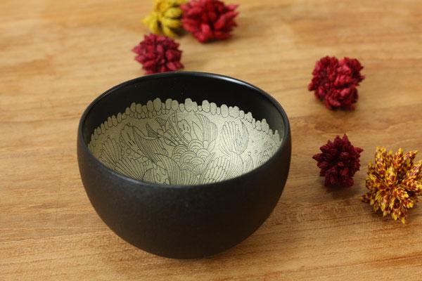 "sake cup ""flower bud"" by Sayo Kuroki"