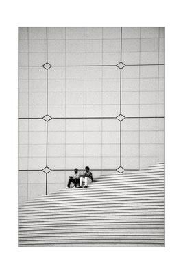 Grande Arche - Gerhard Füreder - 36 Punkte _ Kategorie: Monochrombild