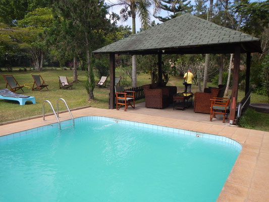 Pool Meru View Lodge