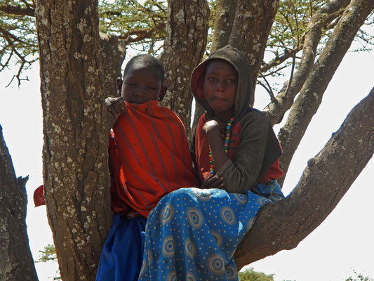Maasai-Kinder / Maasai children