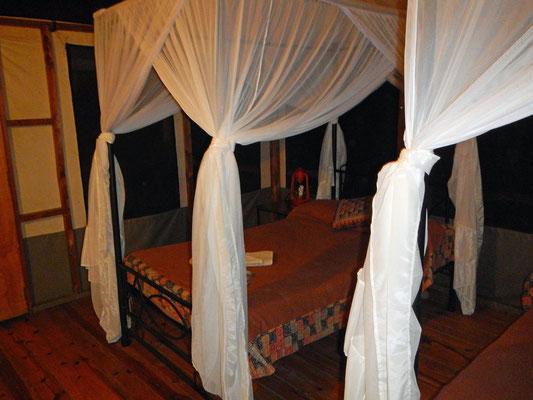 Betten in der Unterkunft / Beds in the accomodation