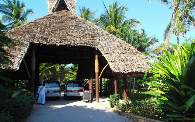 Empfang im Breezes Beach Club and Spa Hotel Zanzibar