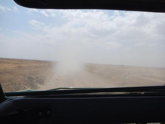 Weg zur Serengeti / Road to serengeti