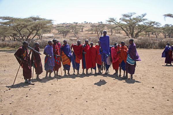 Maasai - Sprung / Maasai jump