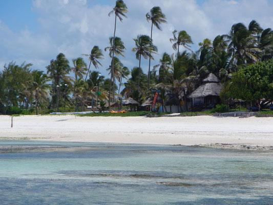 Strand auf Sansibar / beach on Zanzibar
