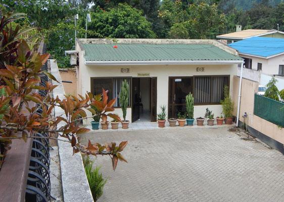 Rezeption Milimani Lodge / Reception Milimani Lodge