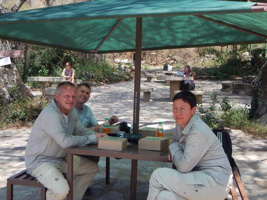 Picknickplatz Serengeti / Picnic place serengeti