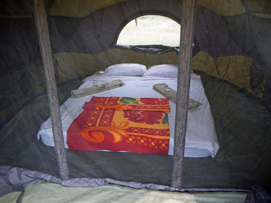 Zelt im Maasai Giraffe Camp / Tent in the Maasai Giraffe Camp