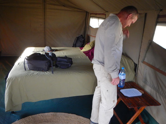 Im Serengeti View Camp