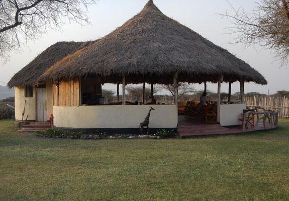 Speiseraum Maasai Giraffe Eco Camp / Dining room Maasai Giraffe Eco Camp