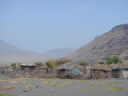 Maasai Dorf / Maasai village
