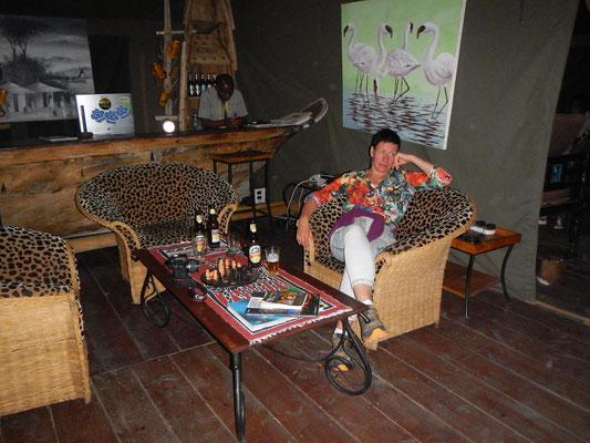 Bar im Serengeti Heritage Camp / Bar in the Serengeti Heritage Camp