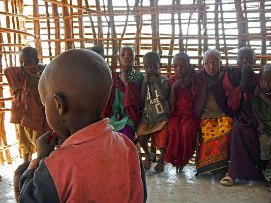 Maasai- Schule / Maasai school