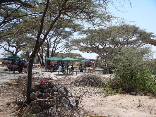 Pichnickplatz Serengeti / Picnic place serengeti
