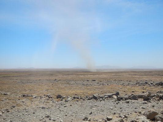 Windhose in der Serengeti / Vortex in the serengeti