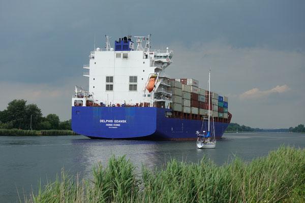 Verweilen am Nord-Ostseekanal