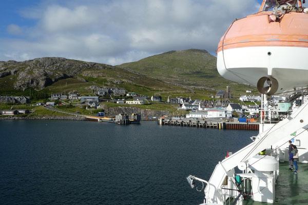 ...bis nach Castlebay auf der Insel Barra