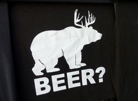 """""""Beer"""" kennen wir, aber einen """"Bear"""" haben wir noch keinen gesehen!"""