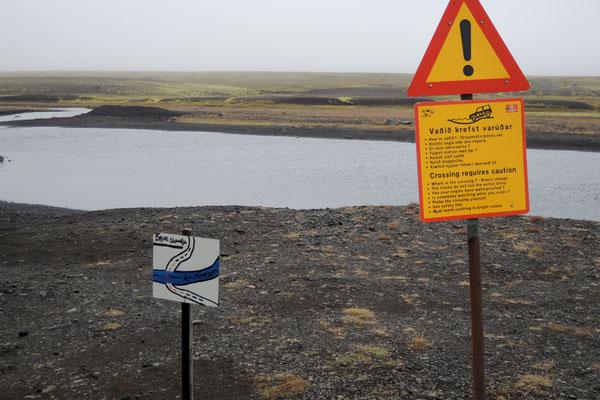 Wegweiser zur richtigen Wasserdurchfahrt