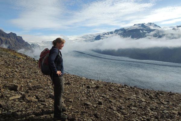Die Gletscherwelt im Skaftafell Nationalpark