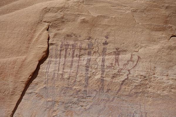 Wir entdecken Felsmalereien...