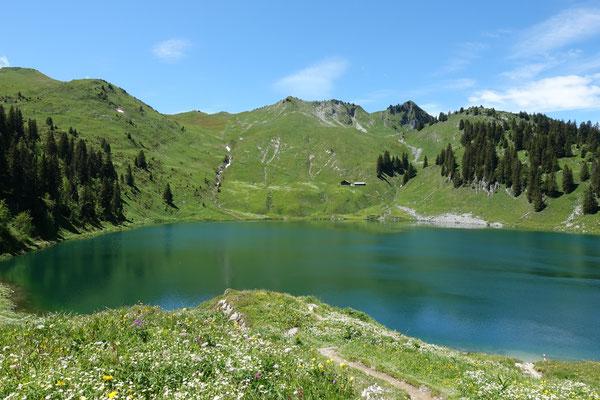 Wandern zum Oberstocksee
