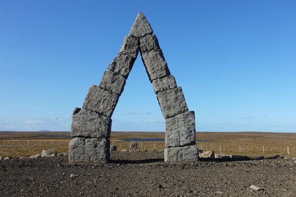 Pyramide in Raufarhöfn