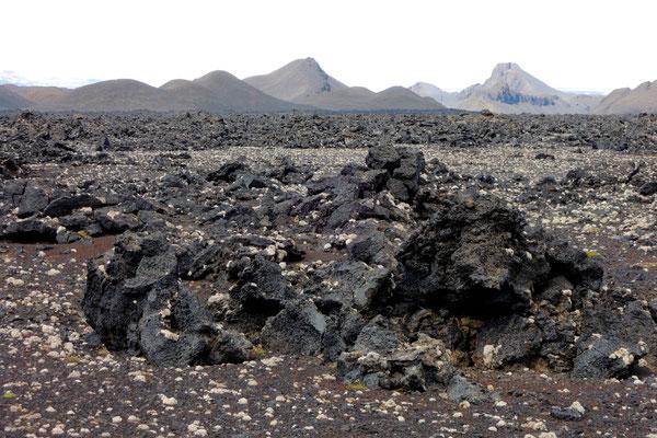 Karge Vulkanlandschaft