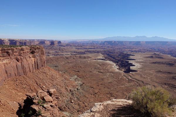 Blick in die Tiefe der Canyonlands