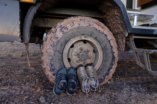 ...die Schuhe sind geputzt...
