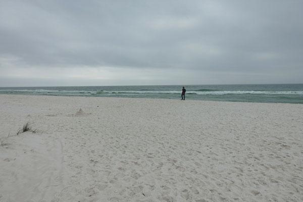 Herrlich weiter Strand