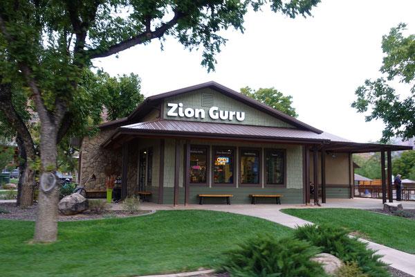 """Bei """"Zionguru"""" in Springdale kann man jede Art von Adventure und Touren buchen!"""