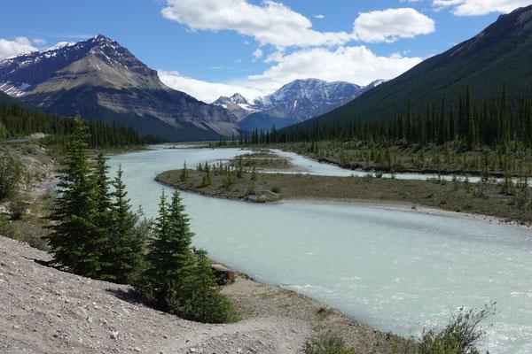 Farbenfrohe Flüsse