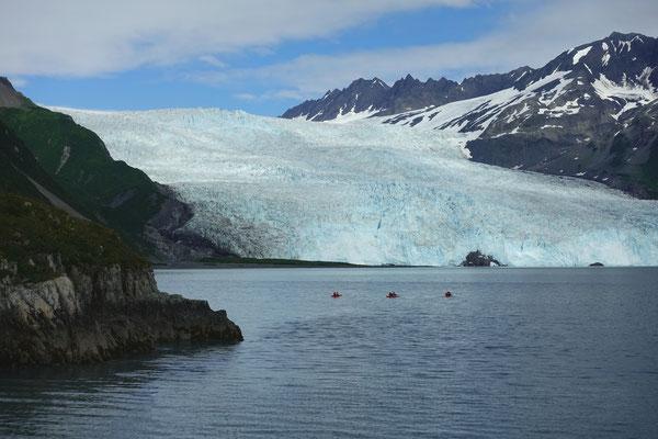 Aialik-Gletscher / Alaska