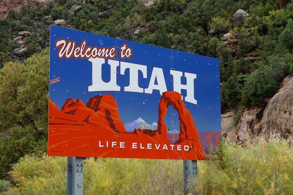 Back in Utah...