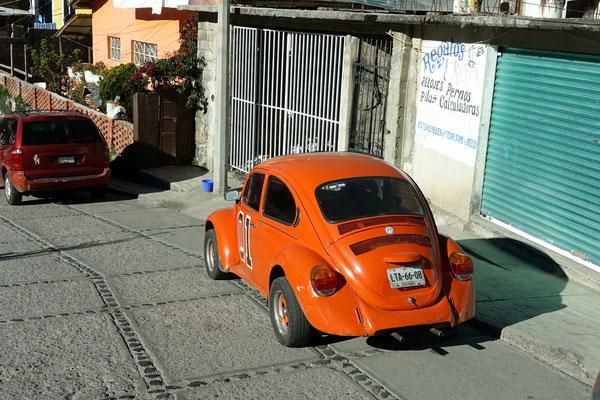 VW-Chäfer sieht man haufenweise