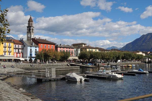 Das schmucke Ascona lädt zum Flanieren ein