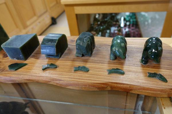 Ein Jade-Bärlein entsteht